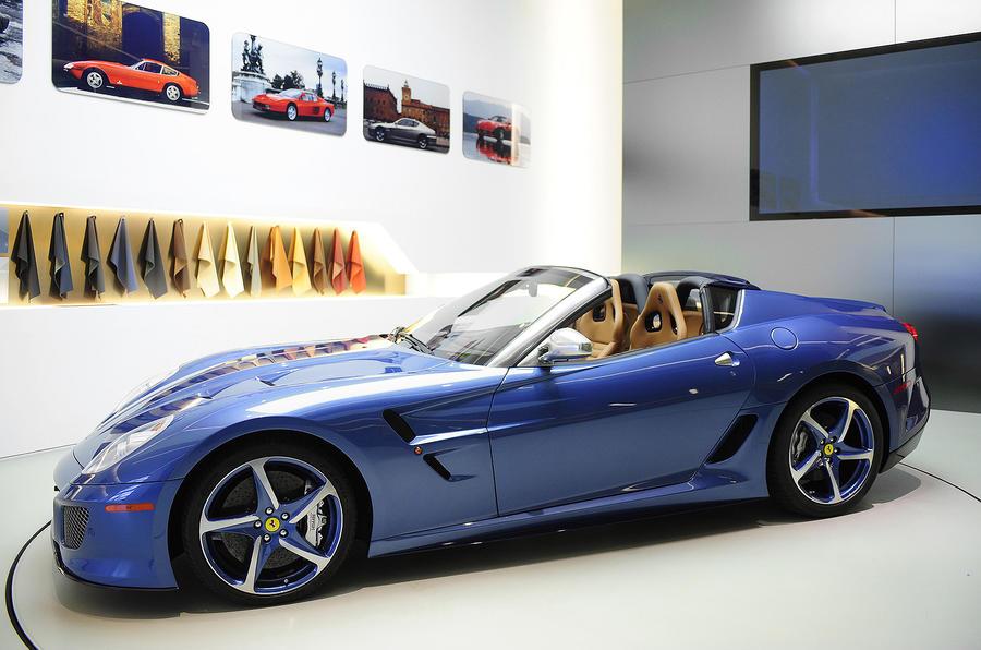 Ferrari Superamerica 45 shown