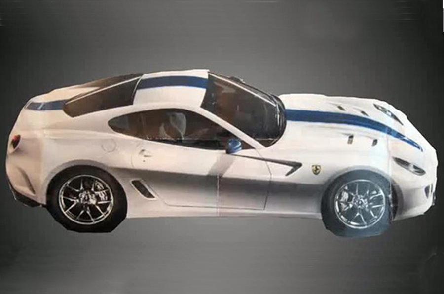 Ferrari 599 GTO 'revealed'