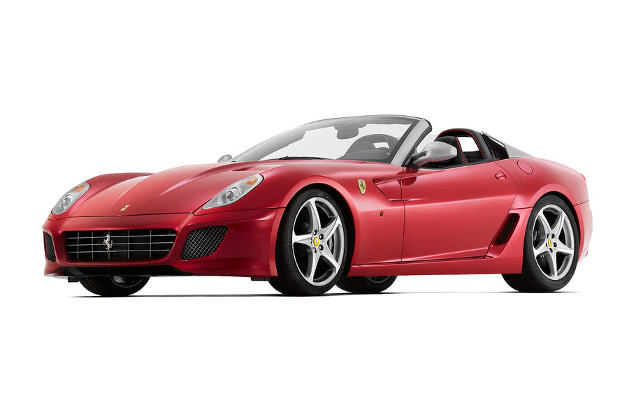 Paris motor show: Ferrari SA APERTA