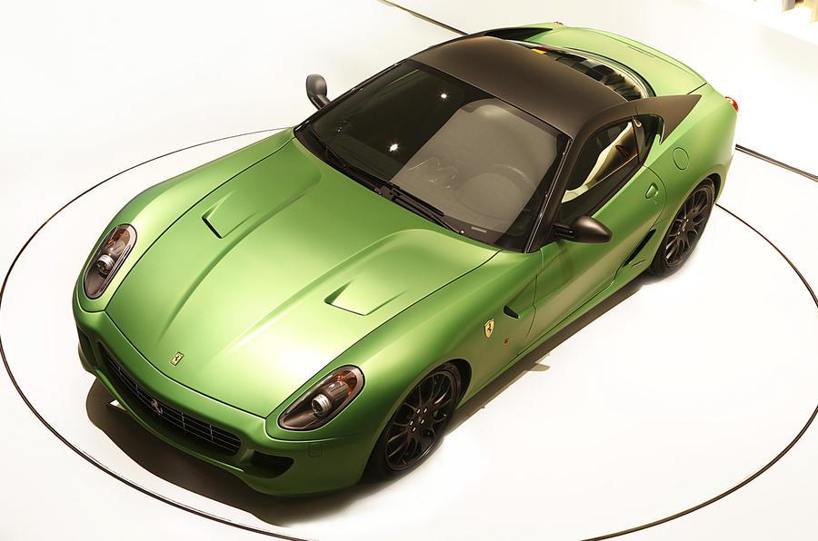 Ferrari 'forced' to go green