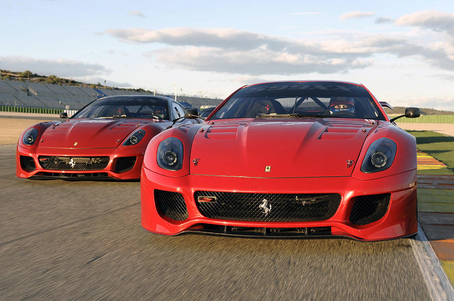 Massa samples Ferrari 599XX