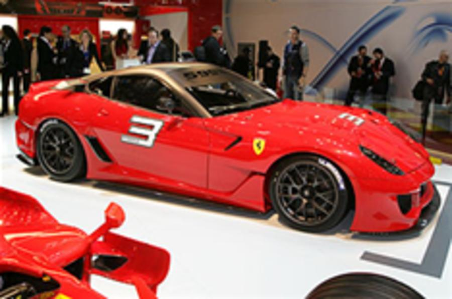 700bhp Ferrari 599XX revealed