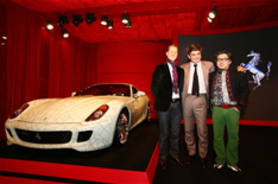 Ferrari 599 sells for £1m