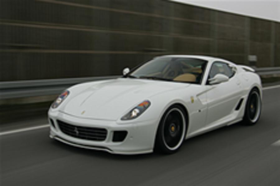651bhp Ferrari 599 launched