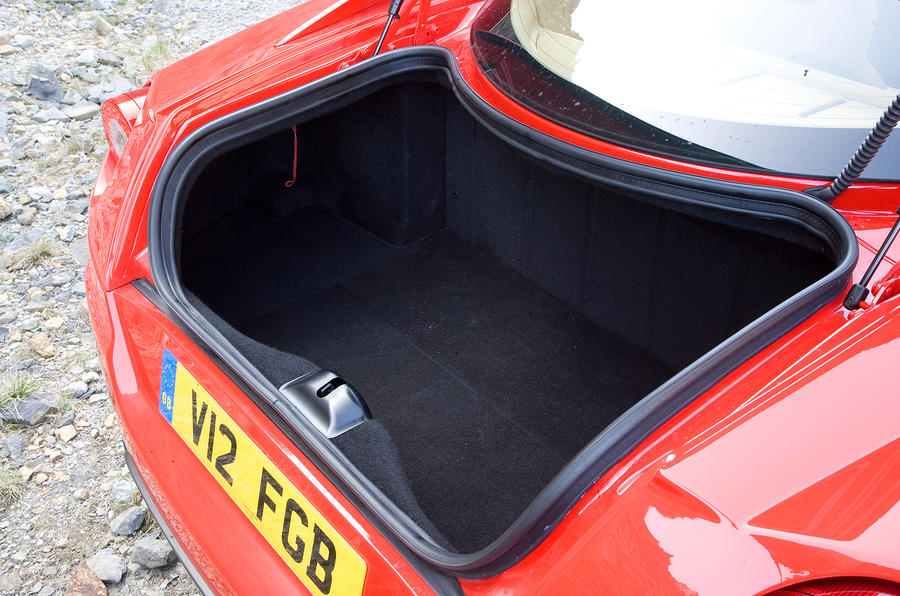 Ferrari 599 boot space