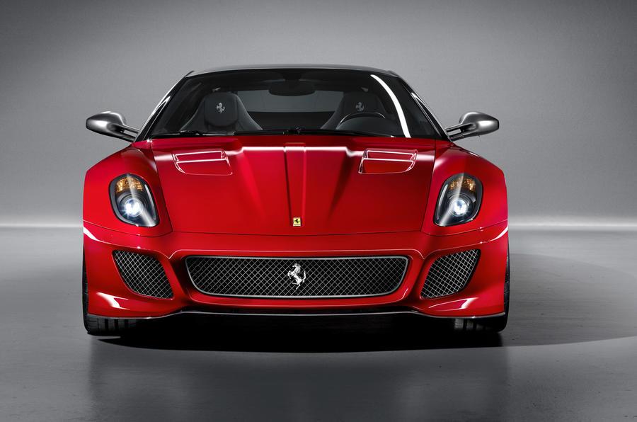 Ferrari's 599 GTO configurator