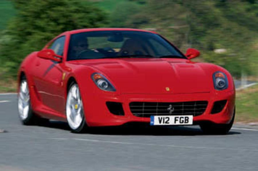 Hybrid Ferrari 599 confirmed
