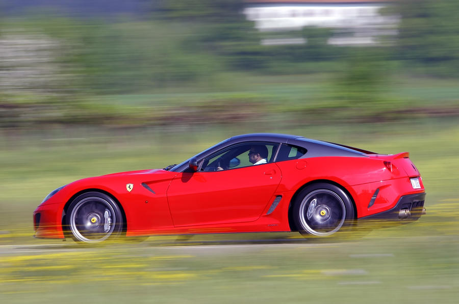 208mph Ferrari 599 GTO