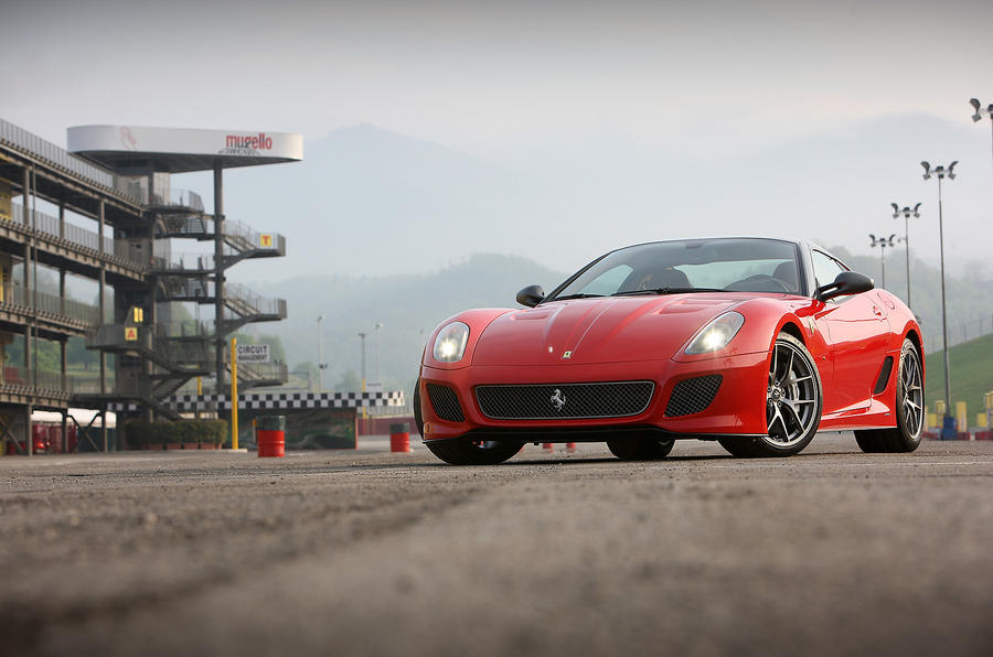 5 star Ferrari 599 GTO