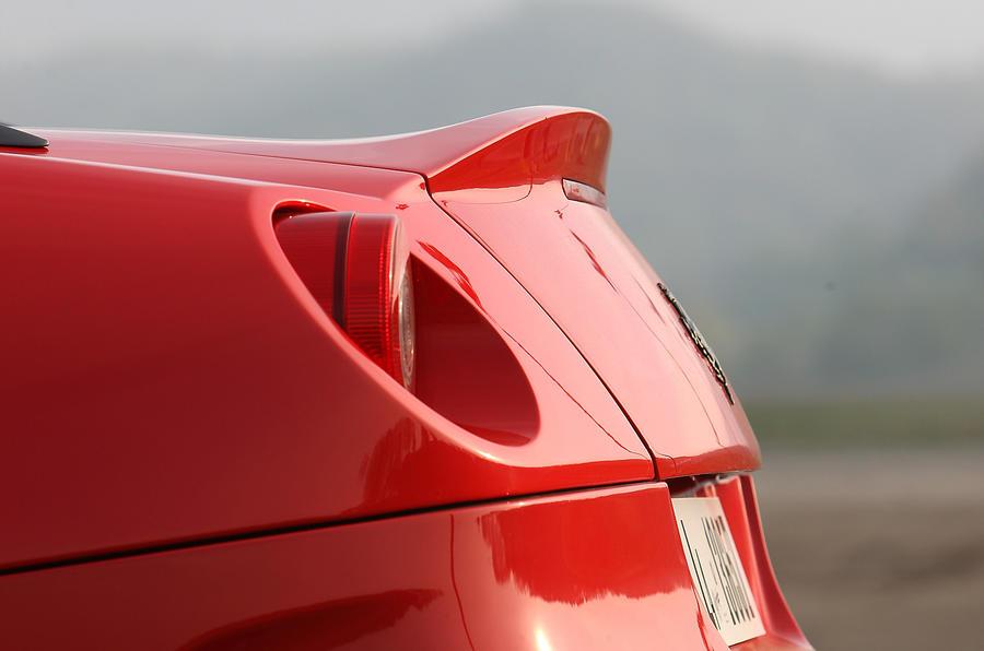 Ferrari 599 GTO rear spoiler