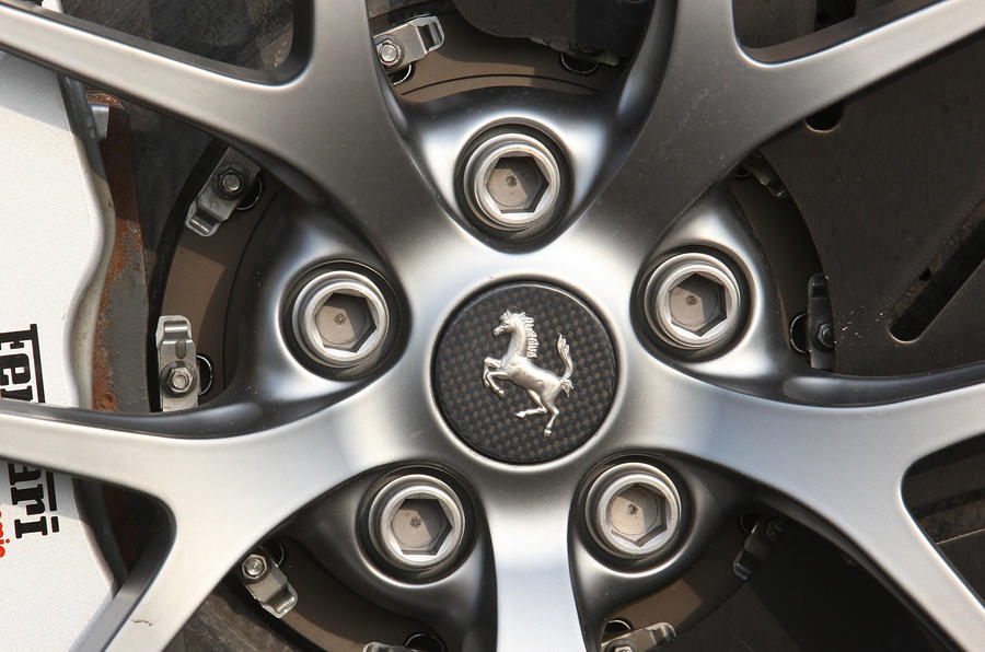 Ferrari 599 GTO specific alloys