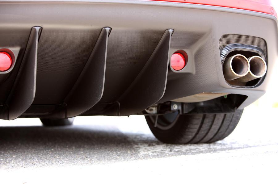 Ferrari 599 GTO rear diffuser