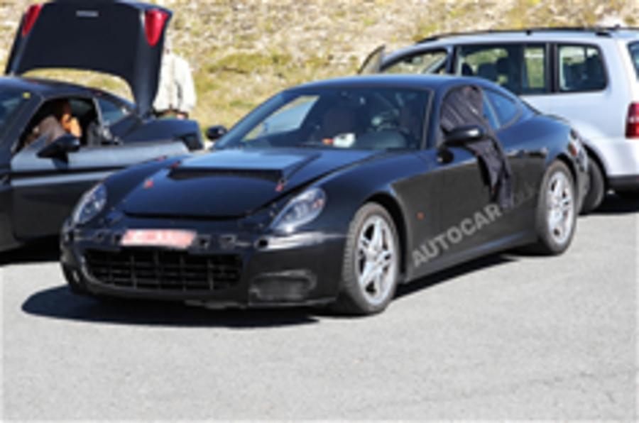 Ferrari 612 replacement spied