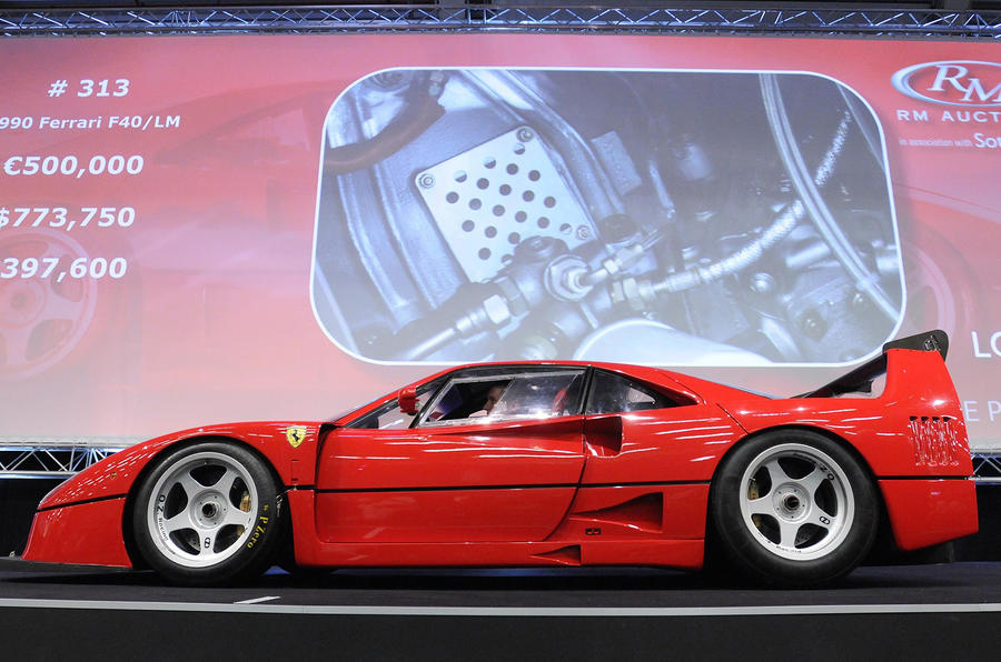 Free Ferrari F40 with house