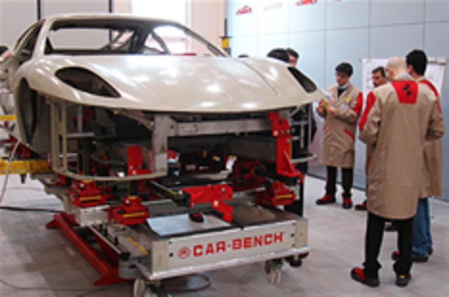 Ferrari denies sales crisis