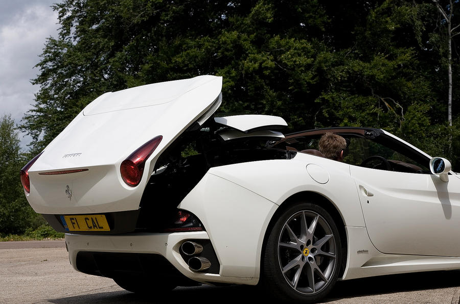 Ferrari California folding roof