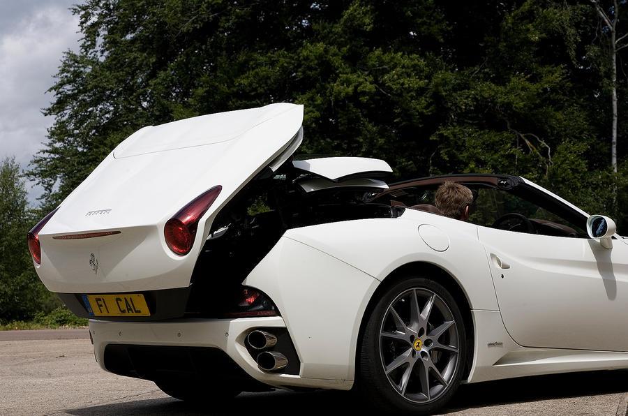 Ferrari California folding roof