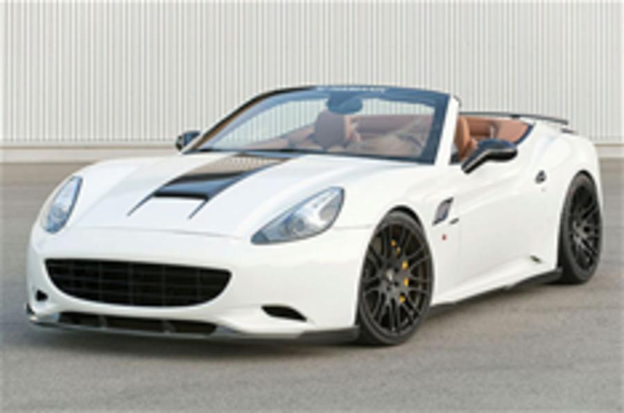 Upgraded Ferrari California