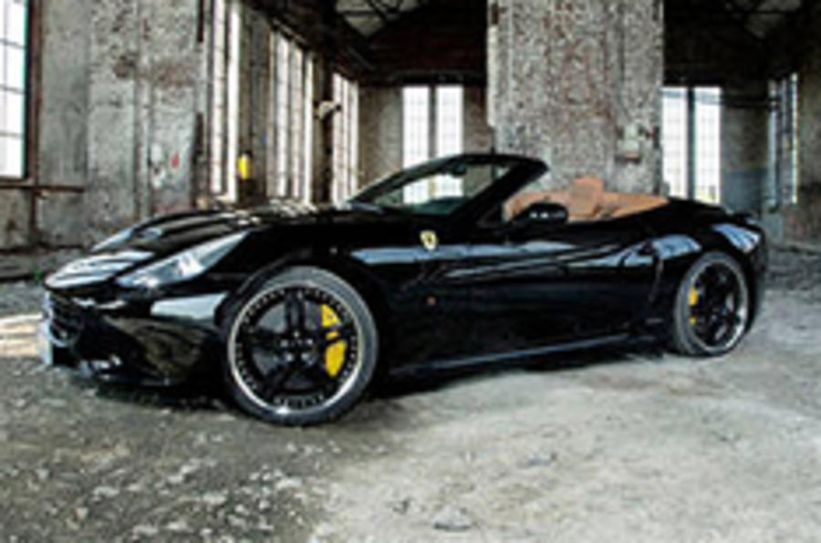 Tuned Ferrari California unveiled