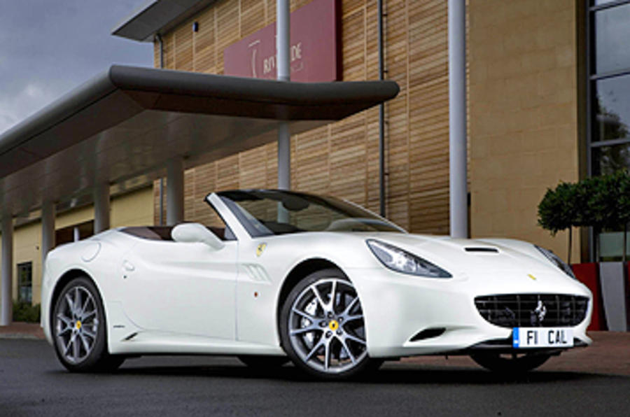 Ferrari confirms manual California