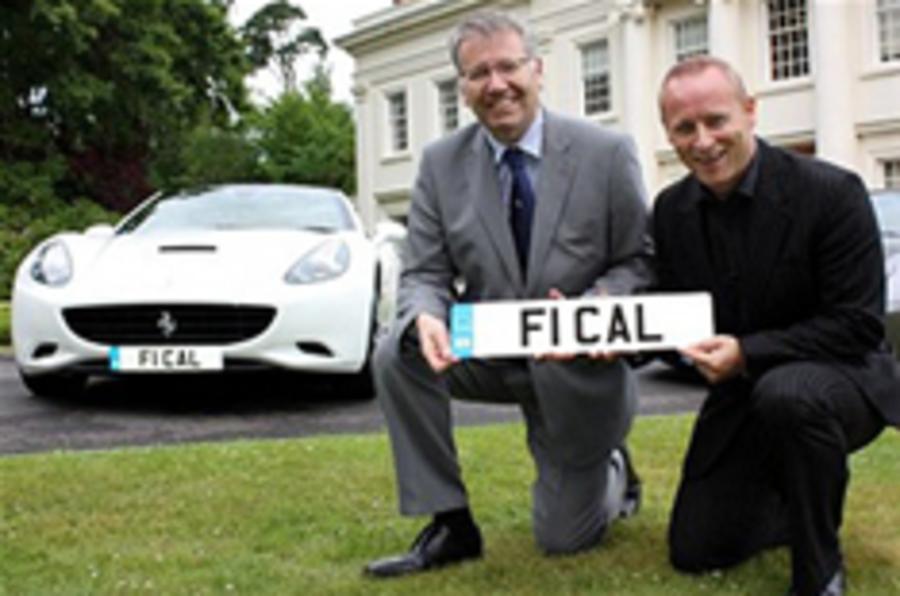 Ferrari buys F1 CAL plate