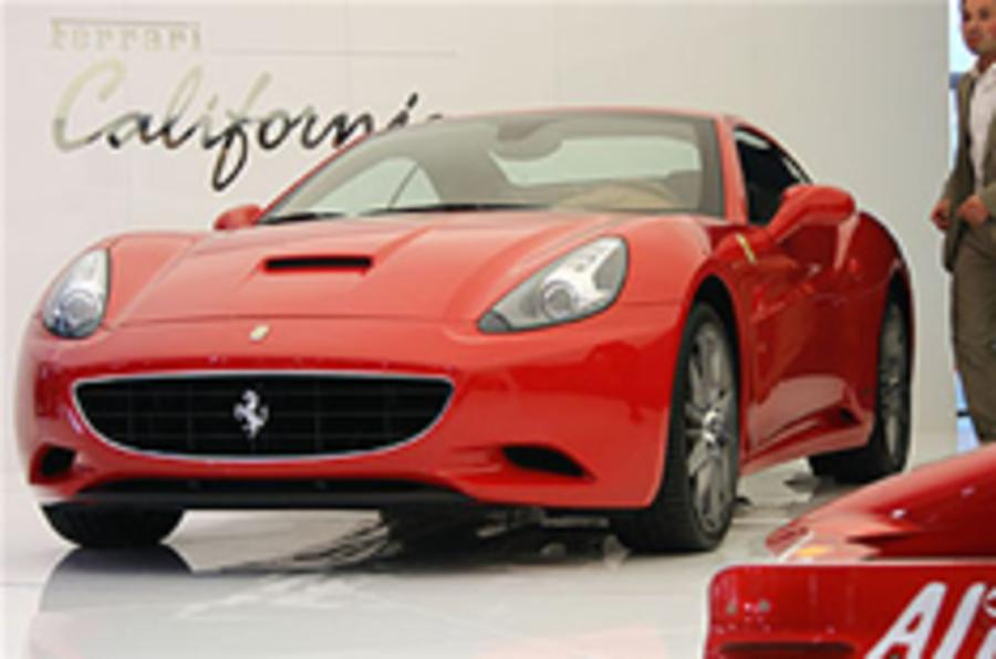 Police lock up Ferrari California