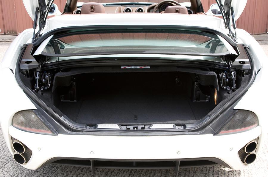 Ferrari California boot space
