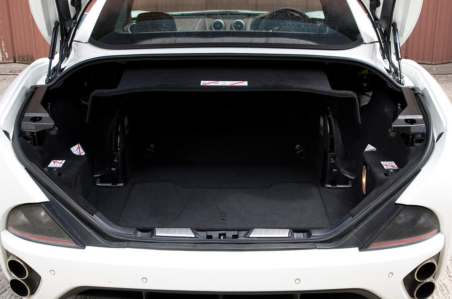 Ferrari California full boot space
