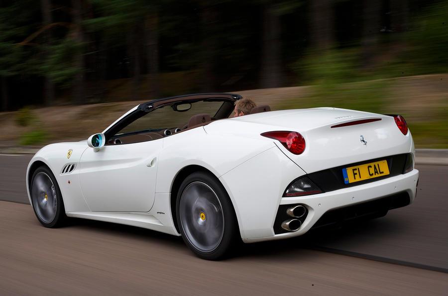Ferrari California rear
