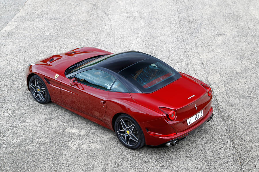 Ferrari California T roof up