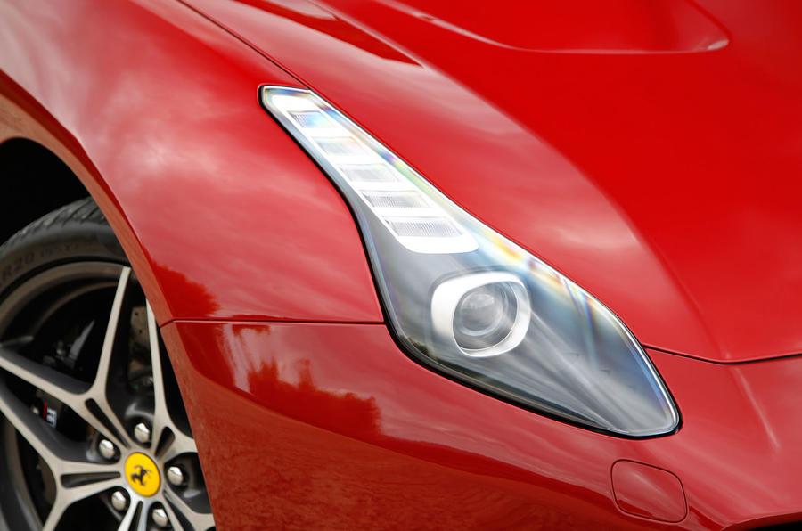 Ferrari California T xenon headlight