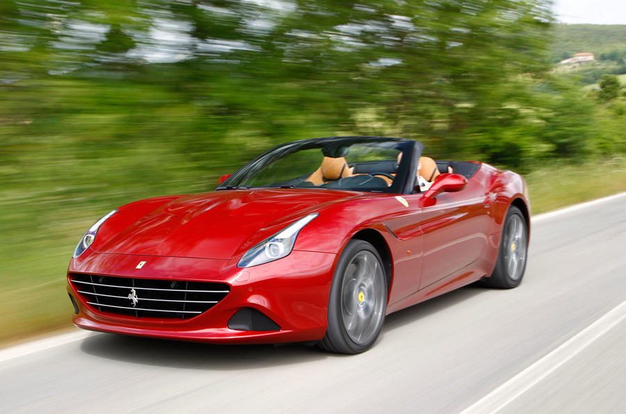The 552bhp Ferrari California T