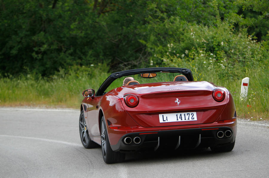 Ferrari California T rear cornering