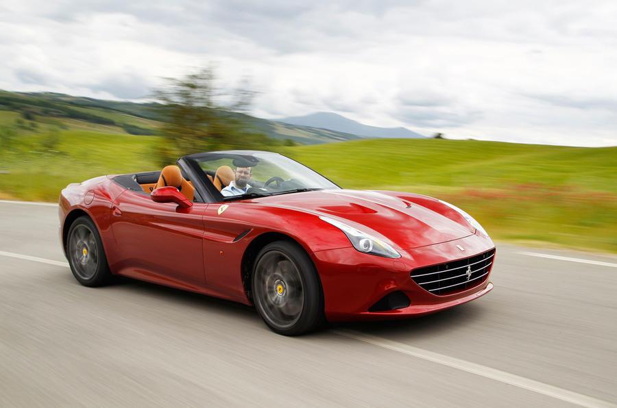 205mph Ferrari California T