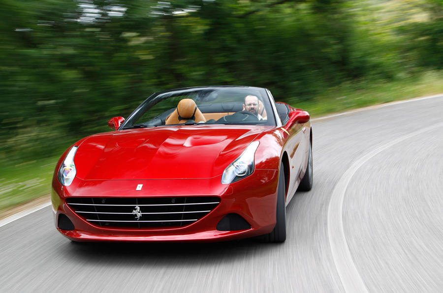 4.5 star Ferrari California T
