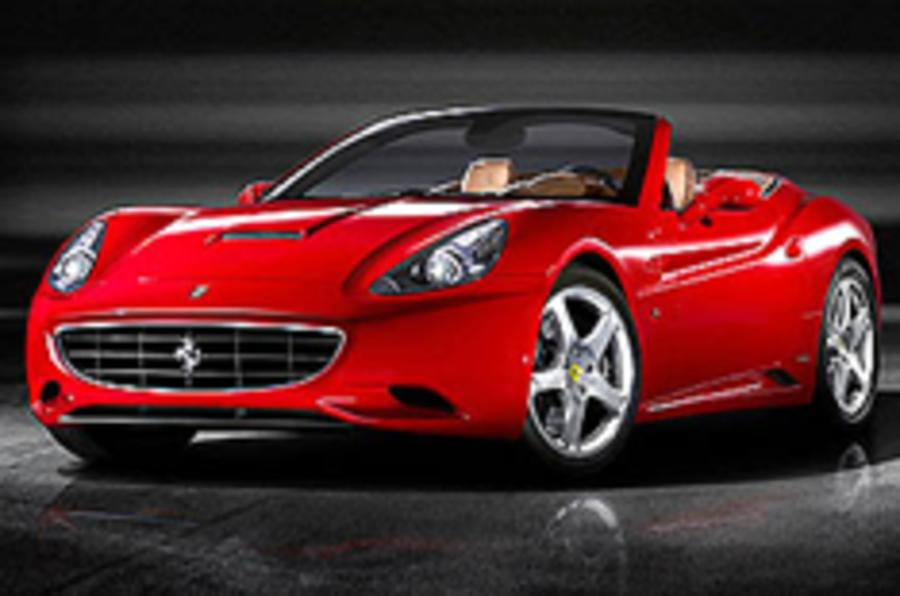 Ferrari California breaks cover