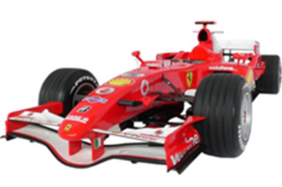 Your own Ferrari F1 car for just £12k