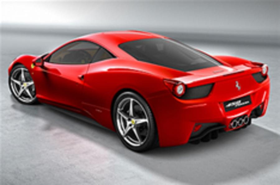 Ferrari 458 'will defy recession'