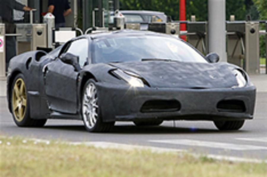 Ferrari F450 spied again