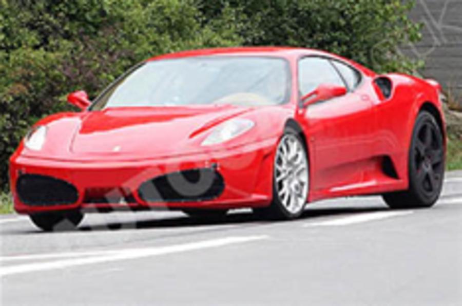 Spied: Ferrari's new supercar