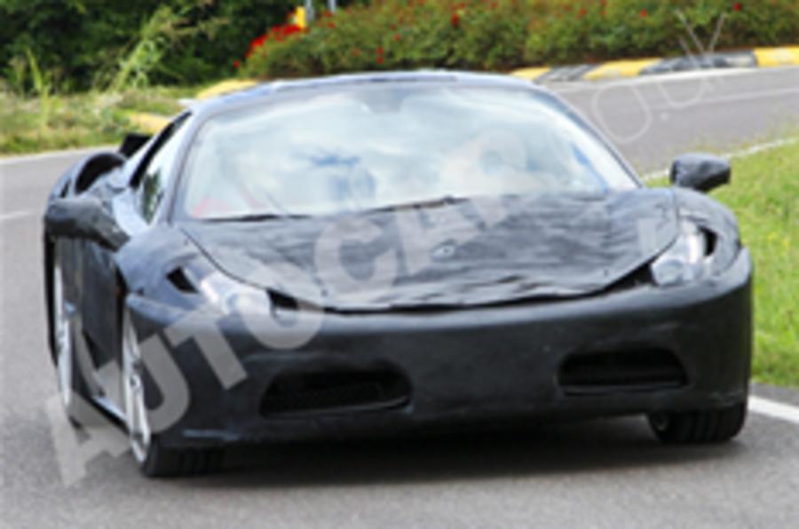 Updated: Ferrari F450 spied