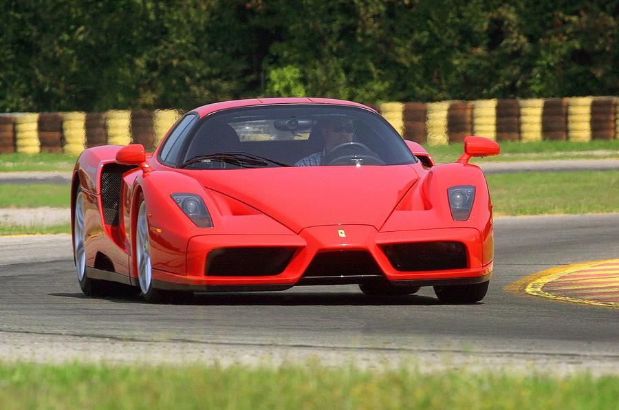 Veyron shapes next Ferrari Enzo