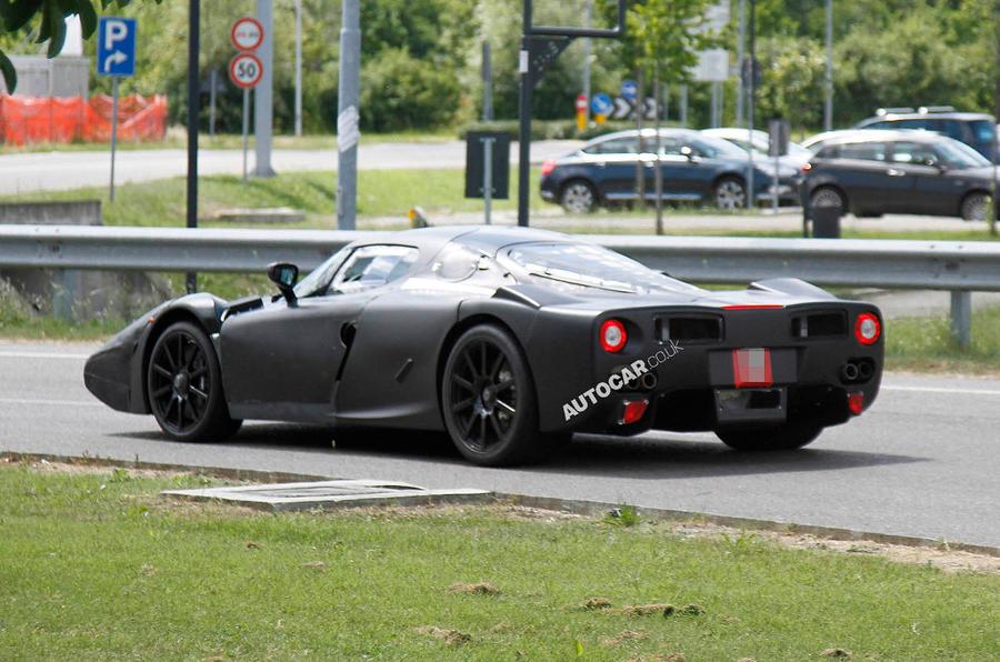 Ferrari Enzo Replacement Spied Testing Autocar