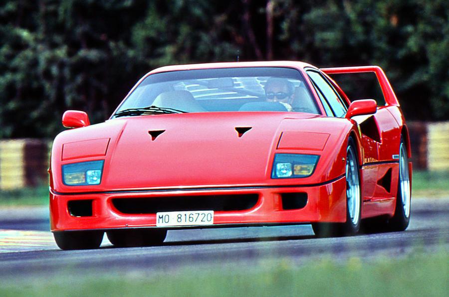 Ferrari F40 1987 1992 Review 2017 Autocar