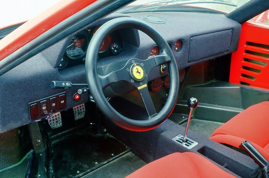 Ferrari F40 1987 1992 Review 2017 Autocar