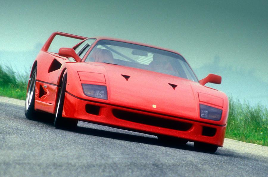 The 478bhp Ferrari F40