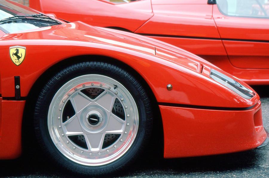 Ferrari F40 nose