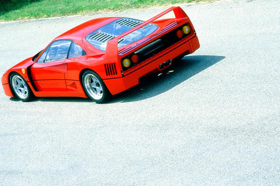 Ferrari F40 rear quarter