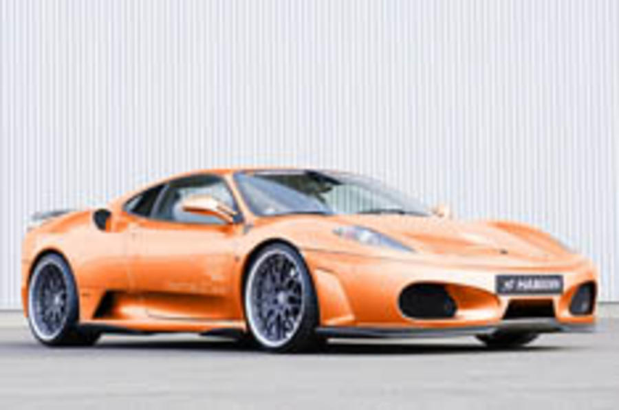 Hamann package boosts F430