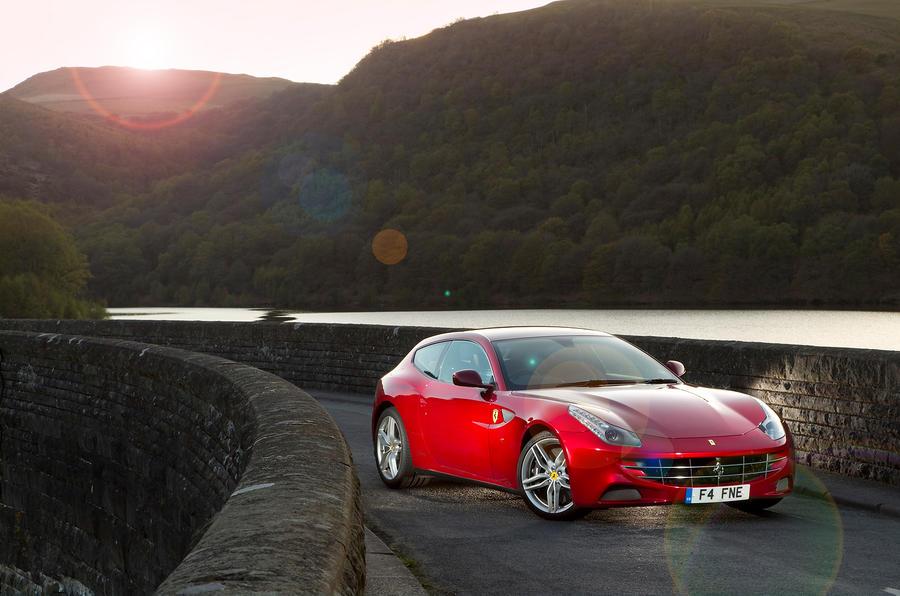 4 star Ferrari FF